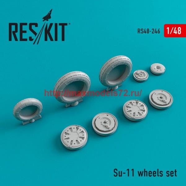 RS48-0246   Su-11 wheels set (thumb45043)