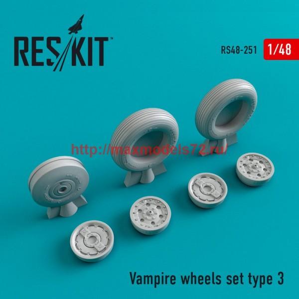 RS48-0251   Vampire type 3 wheels set (thumb45049)