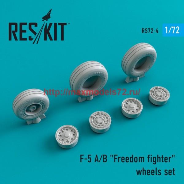 "RS72-0004   F-5 A/B ""Freedom fighter"" wheels set (thumb43945)"