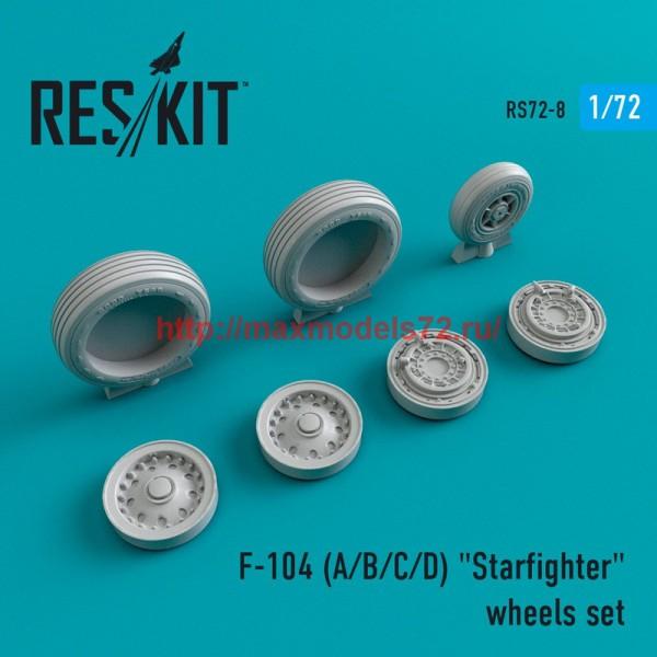 """RS72-0008   F-104 (A/B/C/D) """"Starfighter"""" wheels set (thumb43953)"""