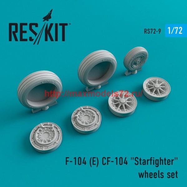 "RS72-0009   F-104 (E) CF-104 ""Starfighter"" wheels set (thumb43955)"