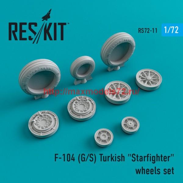 """RS72-0011   F-104 (G/S) Turkish """"Starfighter"""" wheels set (thumb43959)"""