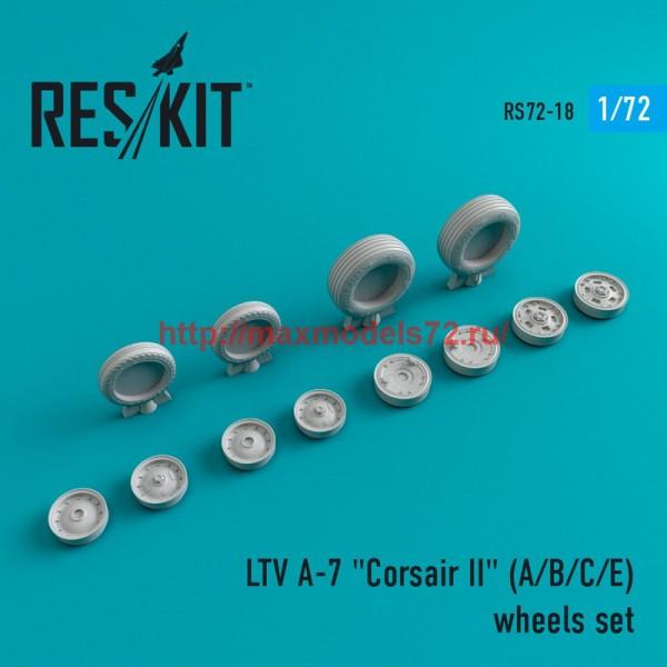 "RS72-0018   LTV A-7 ""Corsair II"" (A/B/C/E) wheels set (thumb43973)"