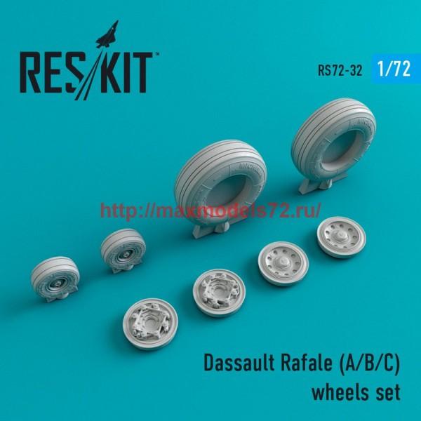 RS72-0032   Dassault Rafale (A/B/C) wheels set (thumb44001)