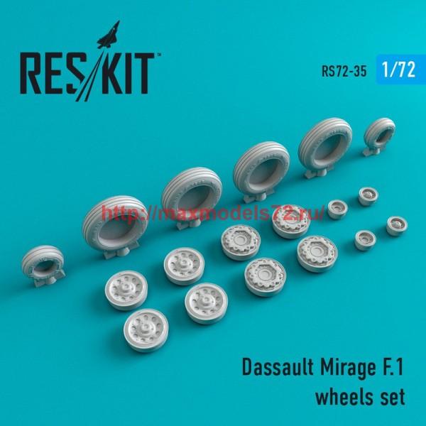 RS72-0035   Dassault Mirage F.1 wheels set (thumb44007)