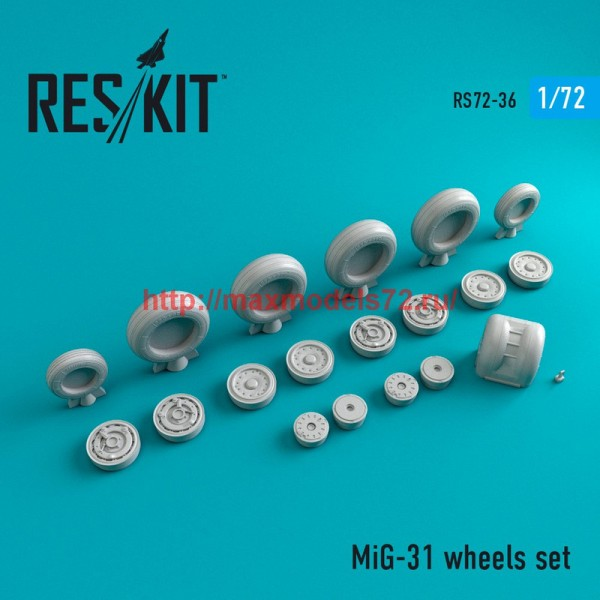 RS72-0036   MiG-31 wheels set (thumb44009)