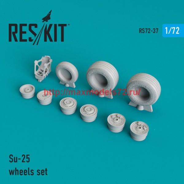 RS72-0037   Su-25 wheels set (thumb44011)