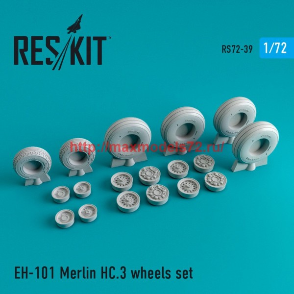 RS72-0039   EH-101 Merlin HC.3 wheels set (thumb44015)