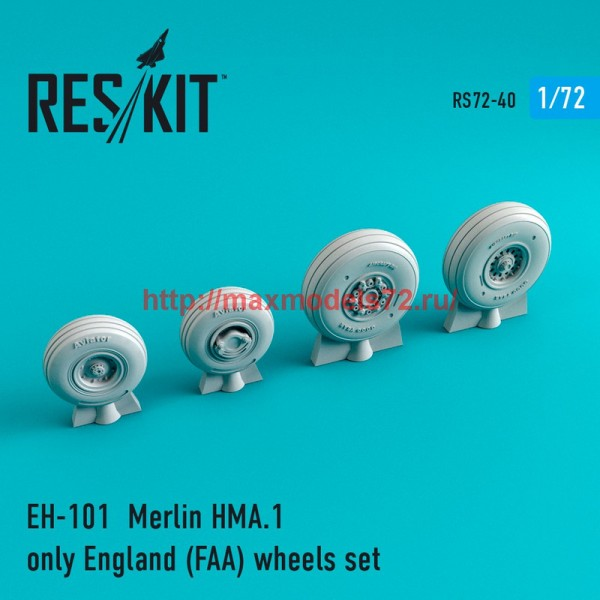 RS72-0040   EH-101  Merlin HMA.1 only England (FAA) wheels set (thumb44017)