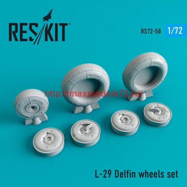 RS72-0058   L-29 wheels set (thumb44053)