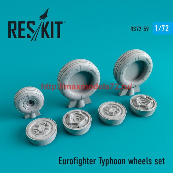 RS72-0059   Eurofighter Typhoon wheels set (thumb44055)