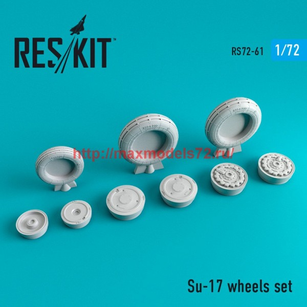 RS72-0061   Su-17 wheels set (thumb44059)