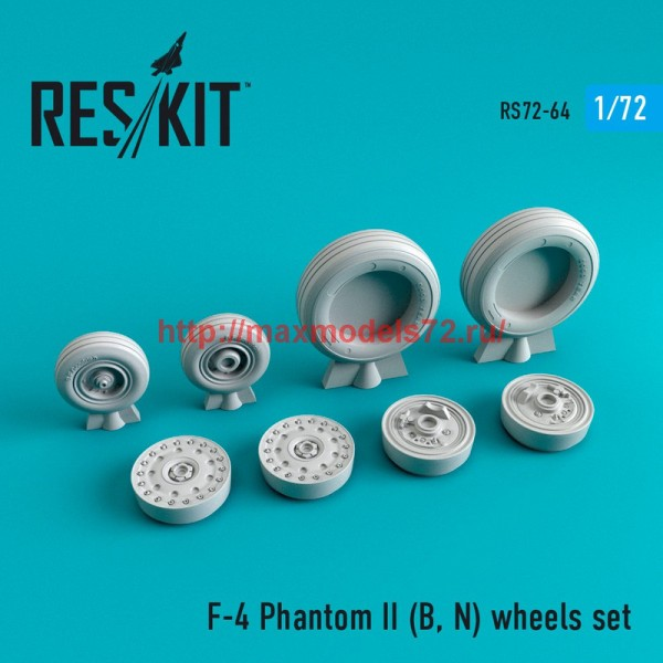 RS72-0064   F-4 Phantom II (B, N) wheels set (thumb44065)