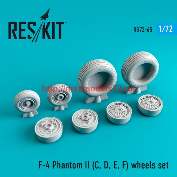 RS72-0065   F-4 Phantom II (C, D, E, F,G) wheels set (thumb44067)