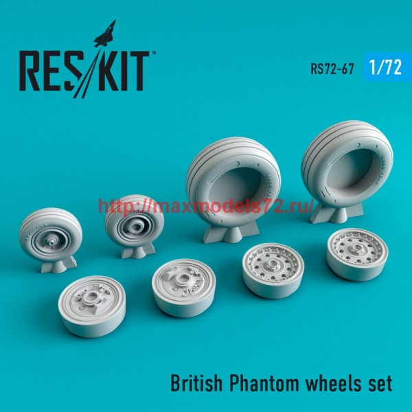 RS72-0067   British Phantom wheels set (thumb44071)