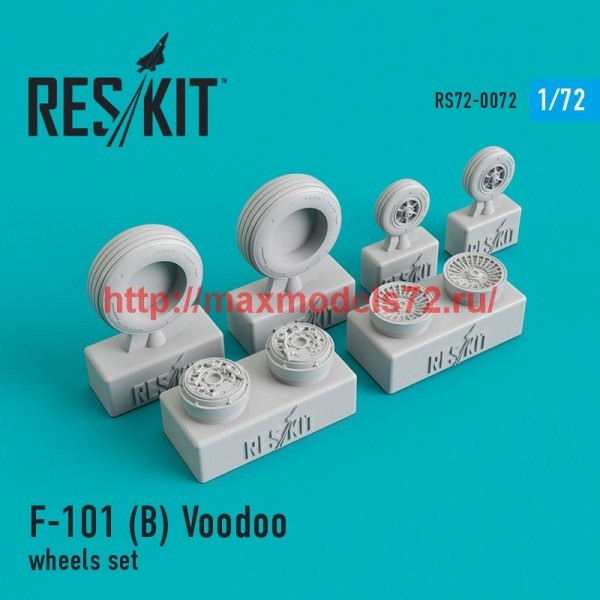 RS72-0072   McDonnell F-101 (B) Voodoo wheels set (thumb44080)