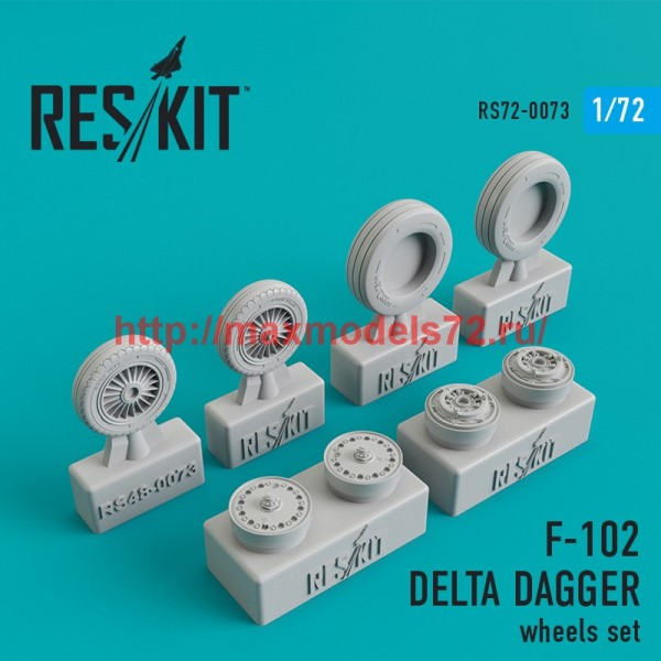 RS72-0073   Convair F-102 Delta Dagger wheels set (thumb44082)