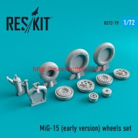 RS72-0079   MiG-15 (early version) wheels set (thumb44094)