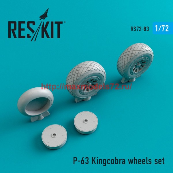 RS72-0083   P-63 Kingcobra wheels set (thumb44101)