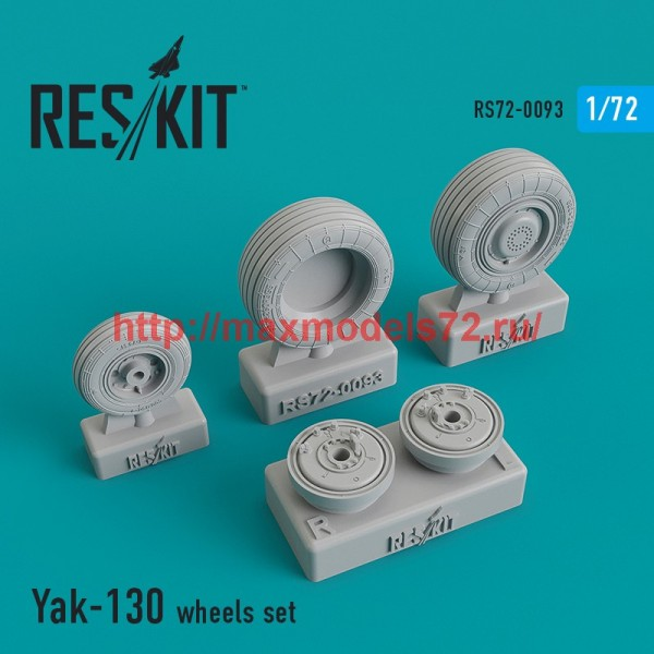 RS72-0093   Yak-130 wheels set (thumb44122)