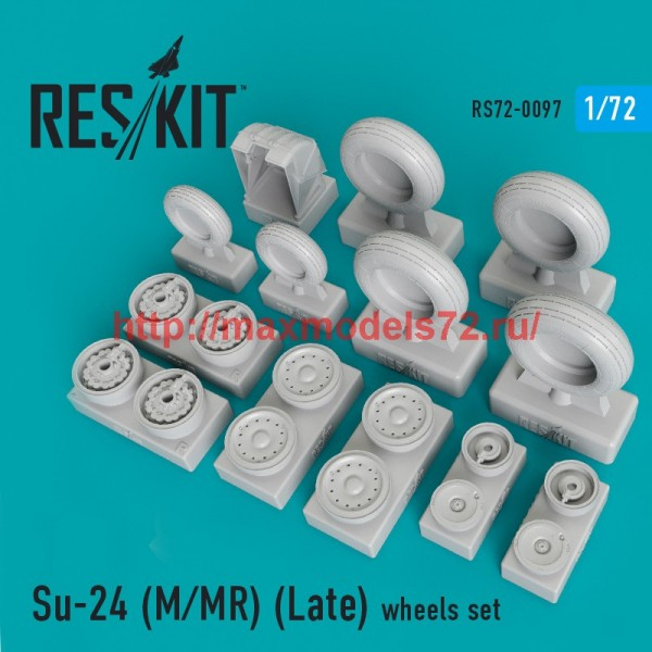 RS72-0097   Su-24 (M/MR) (Late) wheels set (thumb44132)