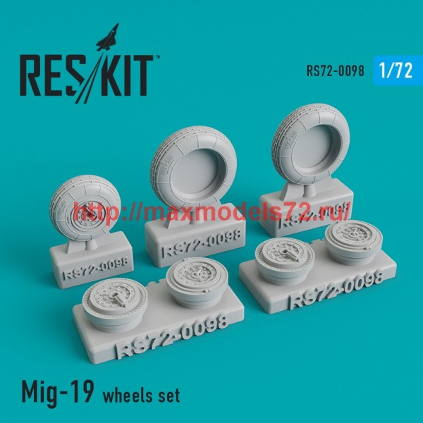 RS72-0098   Mig-19 wheels set (thumb44134)