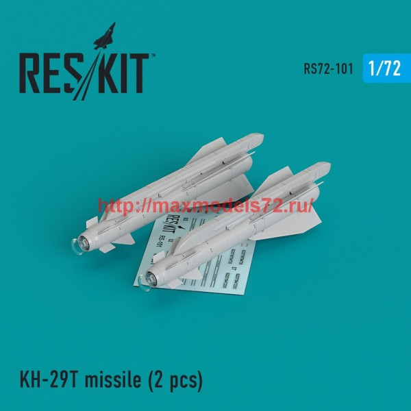 "RS72-0101   Kh-29T (AS-14B ""Kedge) missile (2 pcs)  Su-17, Su-25,Su-24, Su-34, Su-30, Su-39, Mig-27, Yak-130, Mirage F.1 (thumb44140)"