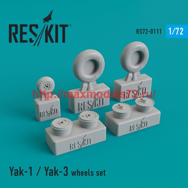 RS72-0111   Yak-1 / Yak-3 wheels set (thumb44161)