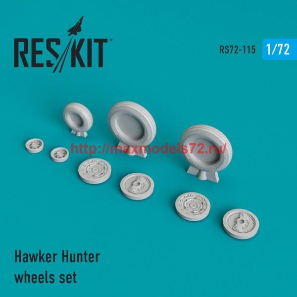 RS72-0115   Hawker Hunter wheels set (thumb44170)