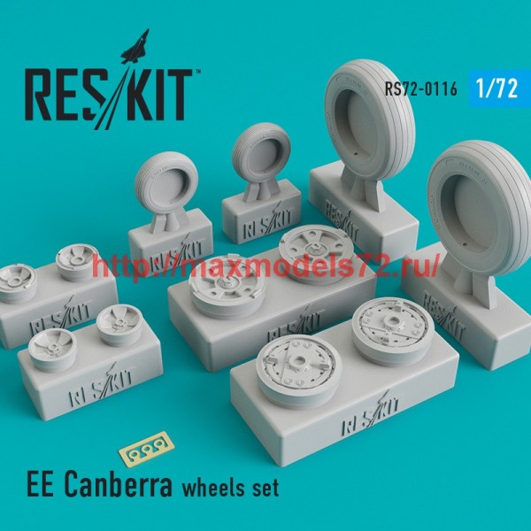 RS72-0116   EE Canberra wheels set (thumb44172)