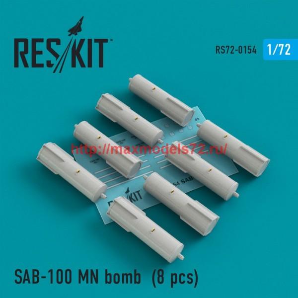 RS72-0154   SAB-100 MN bomb (8 pcs) Su-7, Su-17, Su-24, Su-25, Su-27, Su-30, Su-34, MiG-21, MiG-27, Yak-38, Jak-130 (thumb44244)