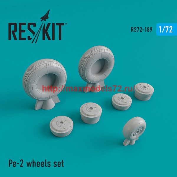 RS72-0189   Pe-2 wheels set (thumb44306)