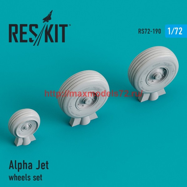 RS72-0190   Alpha Jet wheels set (thumb44308)