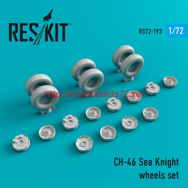 RS72-0193   CH-46 Sea Knight  wheels set (thumb44314)