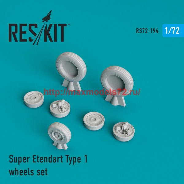RS72-0194   Super Etendard  wheels set (thumb44316)