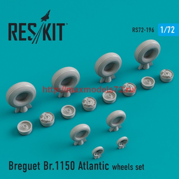 RS72-0196   Breguet Br.1150 Atlantic wheels set (thumb44320)