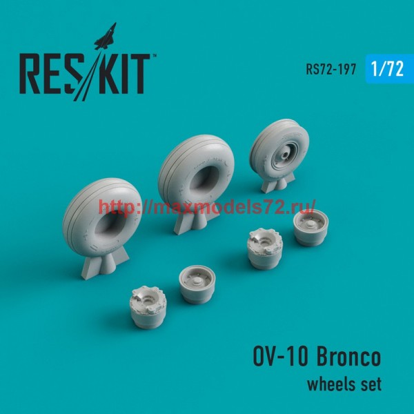 RS72-0197   OV-10 Bronco wheels set (thumb44322)