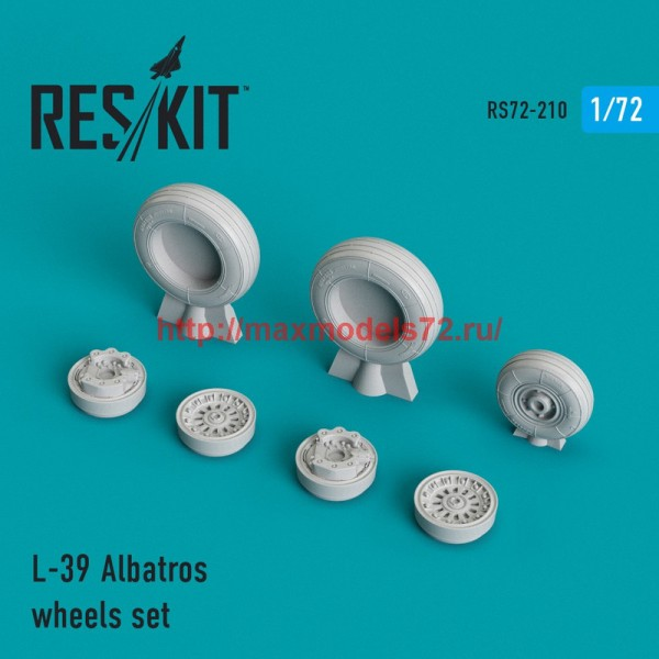 RS72-0210   L-39 Albatros wheels set (thumb44348)