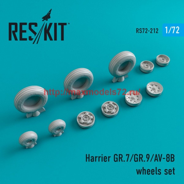 RS72-0212   Harrier GR.7/GR.9/AV-8B wheels set (thumb44352)