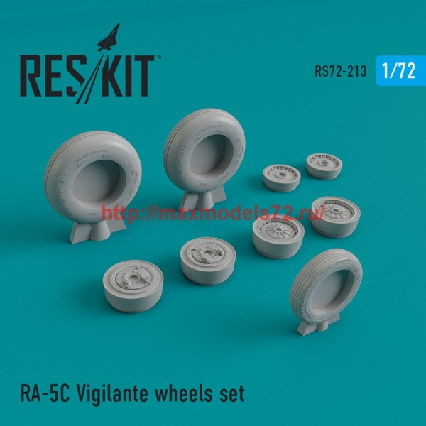 RS72-0213   RA-5 Vigilante wheels set (thumb44354)