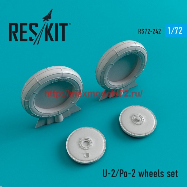 RS72-0242   U-2/Po-2 wheels set (thumb44390)