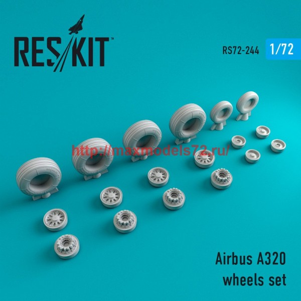 RS72-0244   A320 wheels set (thumb44394)