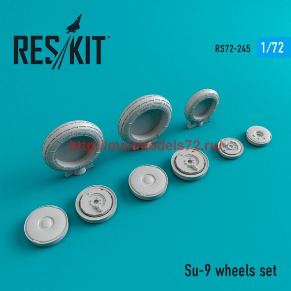 RS72-0245   Su-9 wheels set (thumb44396)