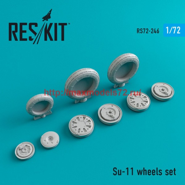 RS72-0246   Su-11 wheels set (thumb44398)