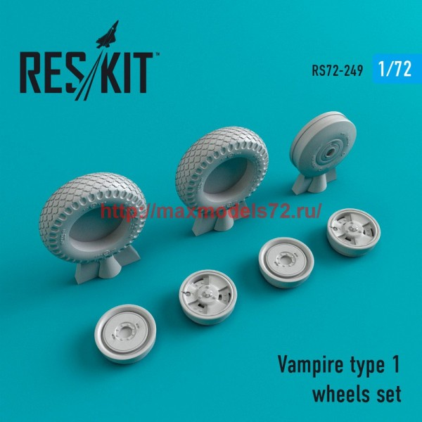 RS72-0249   Vampire type 1 wheels set (thumb44400)