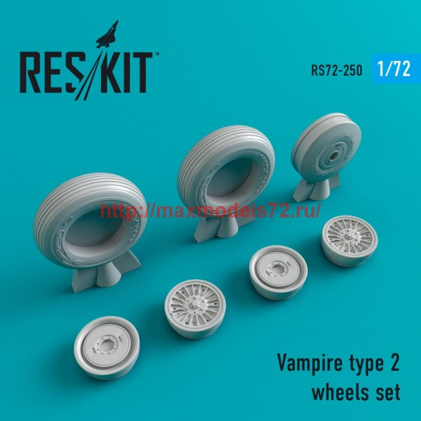 RS72-0250   Vampire type 2 wheels set (thumb44402)