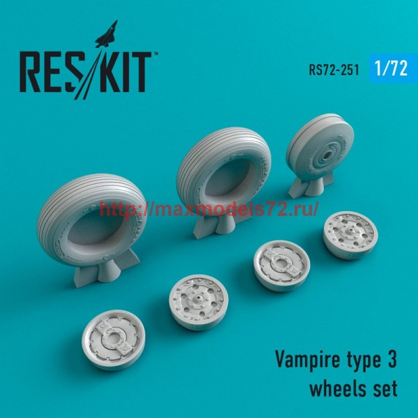 RS72-0251   Vampire type 3 wheels set (thumb44404)