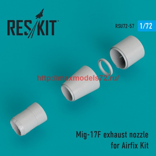 RSU72-0057   Mig-17F exhaust nozzle for Airfix Kit (thumb43909)