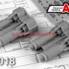 АМС 72018   ФАБ-500М-54 фугасная авиабомба калибра 500 кг (в комплекте две бомбы). (thumb45579)