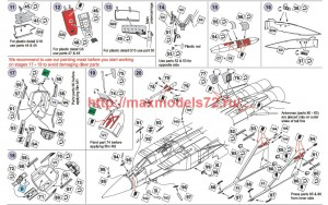 A-squared72013   MiG-31 photoetched detailing set for Trumpeter kits (attach1 45765)